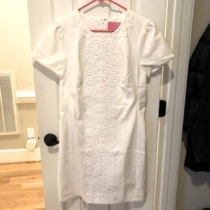 Lilly Pulitzer Resort White Maisie Shift Dress